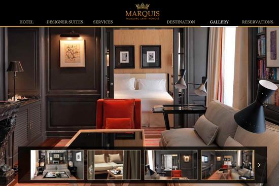 Hôtel Marquis Faubourg Saint-Honoré -The luxury boutique Hotel in Paris