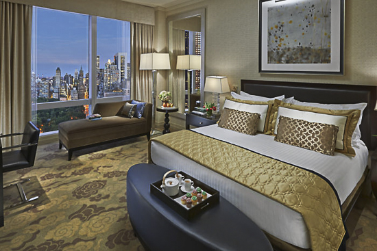 kid friendly family hotels in nyc - mandarin oriental family hotel