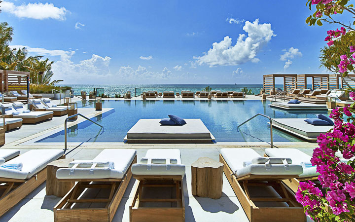 1 Hotel South Beach | Luxury Boutique Hotel South Beach - Luxury Pool and Ocean front cabanas