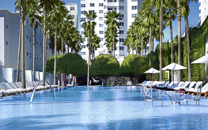 Delano Boutique Hotel | Luxury South Beach Hotel and Pool - Luxury Hotel Pools Miami