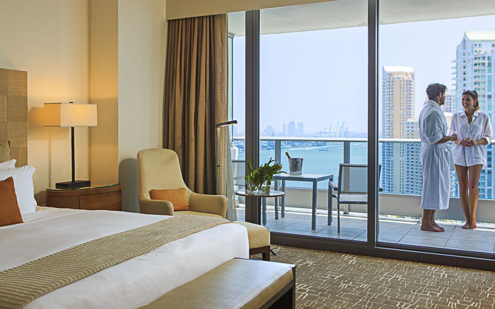 Epic hotel luxury hotel - Boutique Hotel Miami - Water Front Luxury Rooms