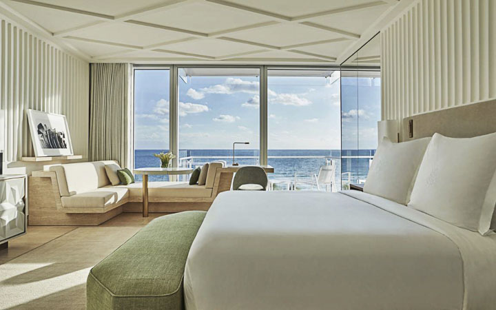 Four Seasons Hotel at The Surf Club – Luxury Resorts Miami - Luxury Ocean Front Rooms