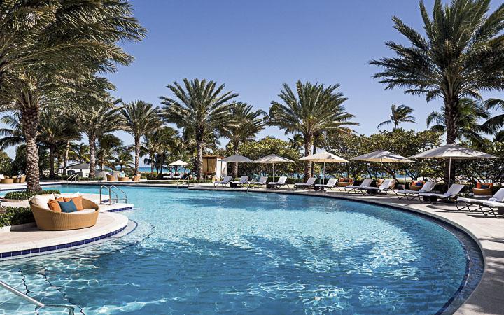 The Ritz-Carlton Bal Harbour   Miami Beach Luxury Resorts - luxury pool
