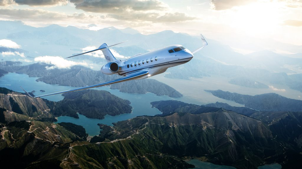 private jet charter - gulfstream 650ef - luxury journey trend