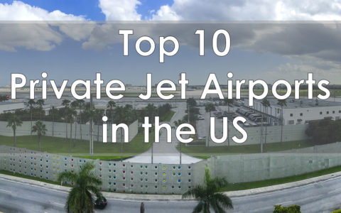 private jet airports USA - top 10 private jet airports in the us TEB SNA MIA OAK PBI IAH FLL  FRG HPN VNY